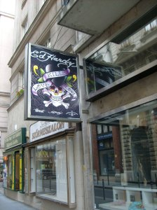 64. Ed Hardy in Budapest