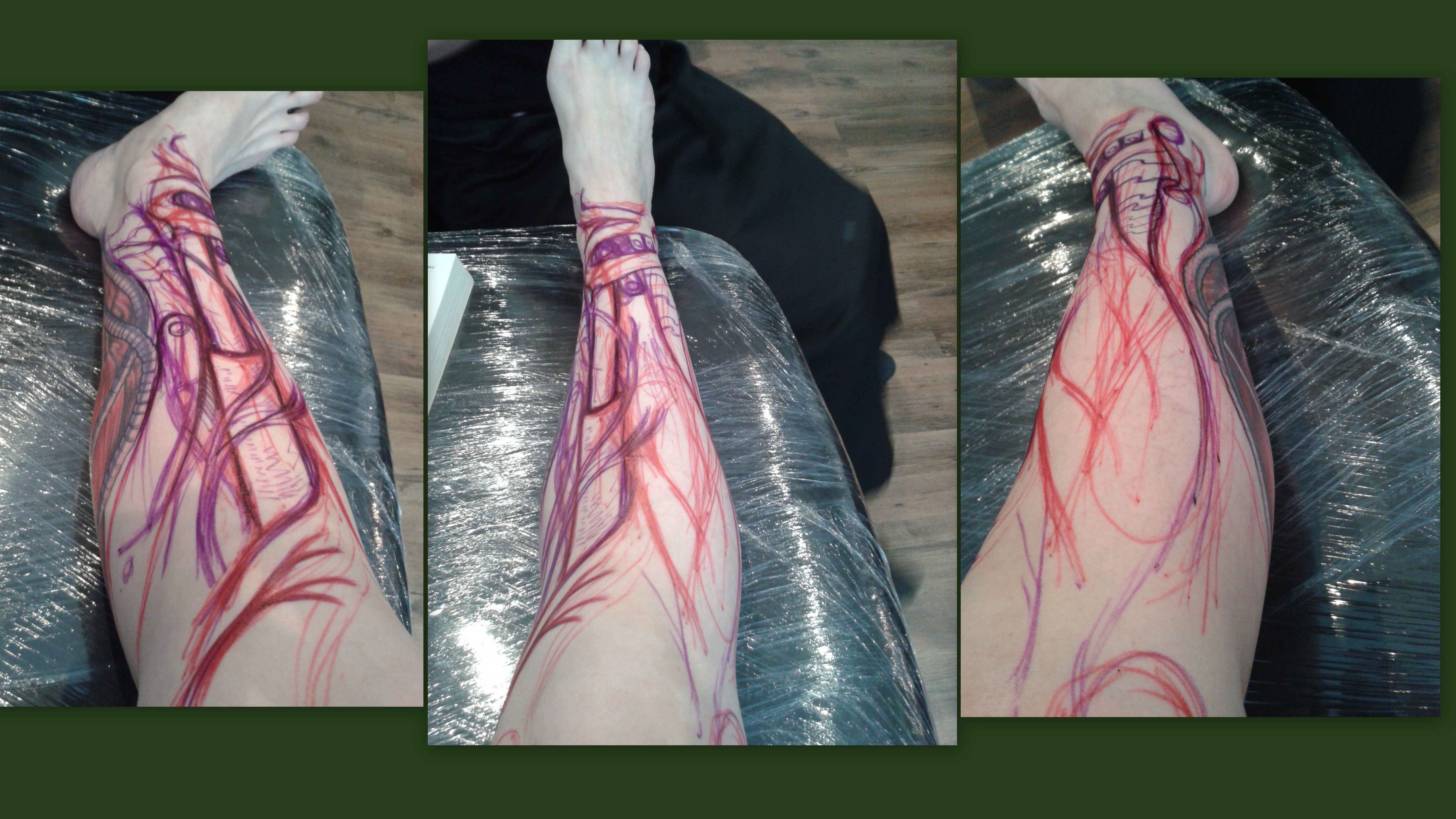 me, me, me – my shin tattoo, session 1 | Aniareads Weblog