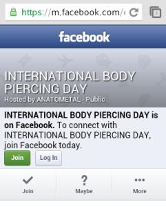 body piercing day