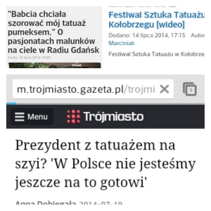 Polish headlines