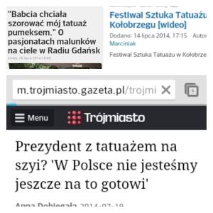 Polish headlines