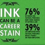 tattoos and jobhunt