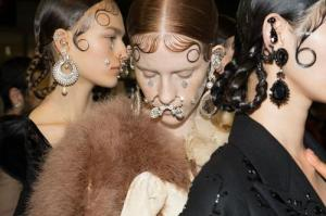 face jewlery by Givenchy
