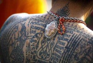 Sak Yant tattoos