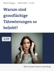 tatto popularity