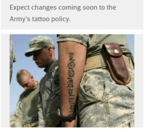 army tattoo policy