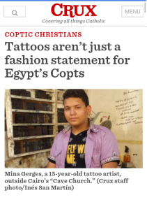 coptic tattoos