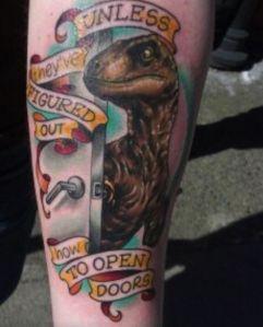 Jurassic Park tattoos i