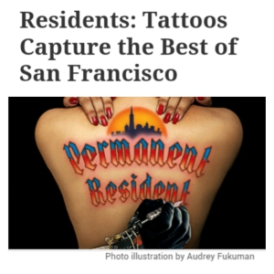 San Fran tattoos