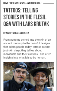 Q&A with L. Krutak