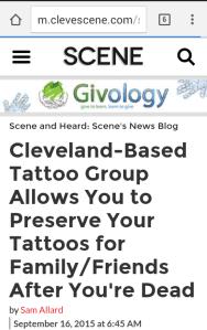 tattoo preserving