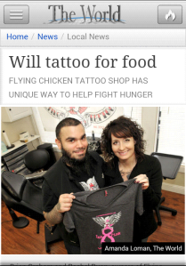 tattoos for food