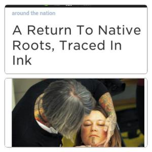 native tattoos
