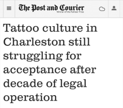Charleston tattoo scene