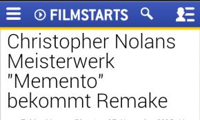Memento remake