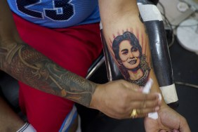 political tattoos