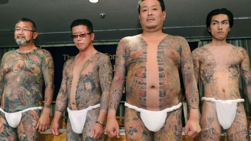 Japan and tattoos