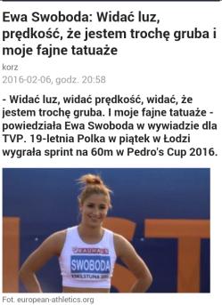 Polish sprinter