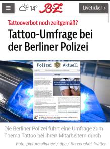 tattoo survey