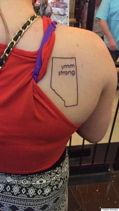 Fort McMurray tattoos