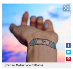 calming tattoos ;)