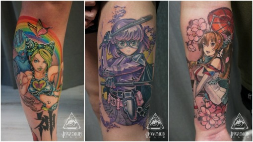 japanese geek tattoos