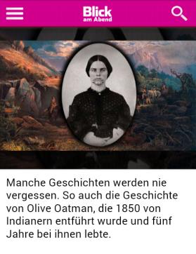 Olive Oatman