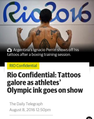 Rio tattoos