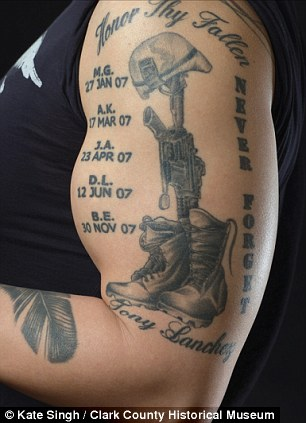 military tattoos exhibits